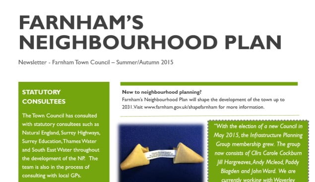Neighbourhood plan newsletter