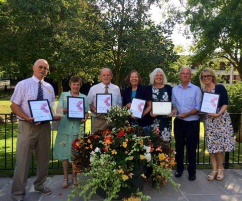 Winners of Farnham in Bloom 2016